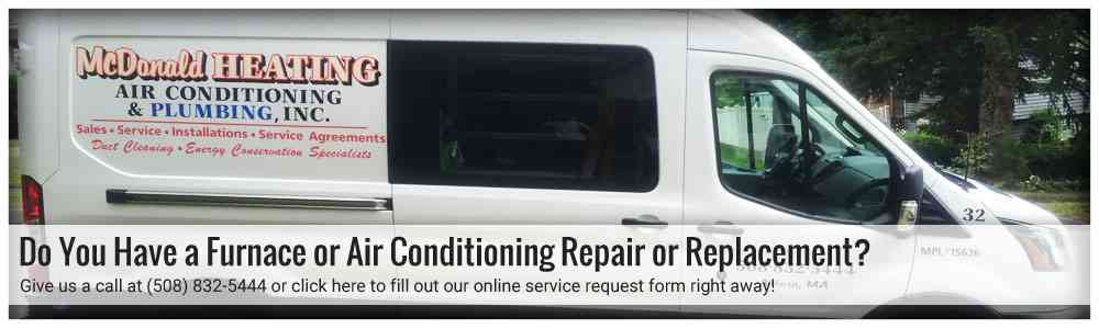 Schedule your Air Conditioning replacement in Millbury MA.
