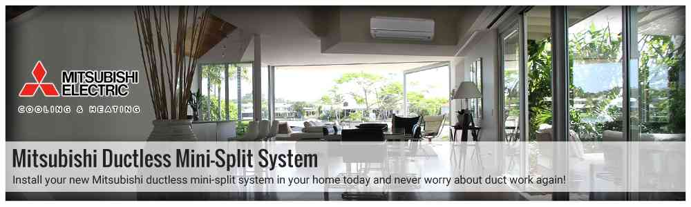 Mitsubishi Electric heat pump and ductless Cooling products in Millbury MA are our specialty.